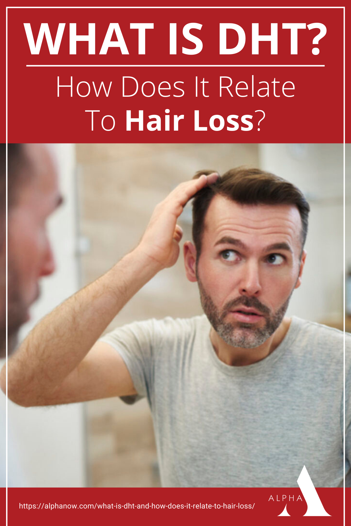 What Is DHT And How Does It Relate To Hair Loss? https://alphanow.com/what-is-dht-and-how-does-it-relate-to-hair-loss/