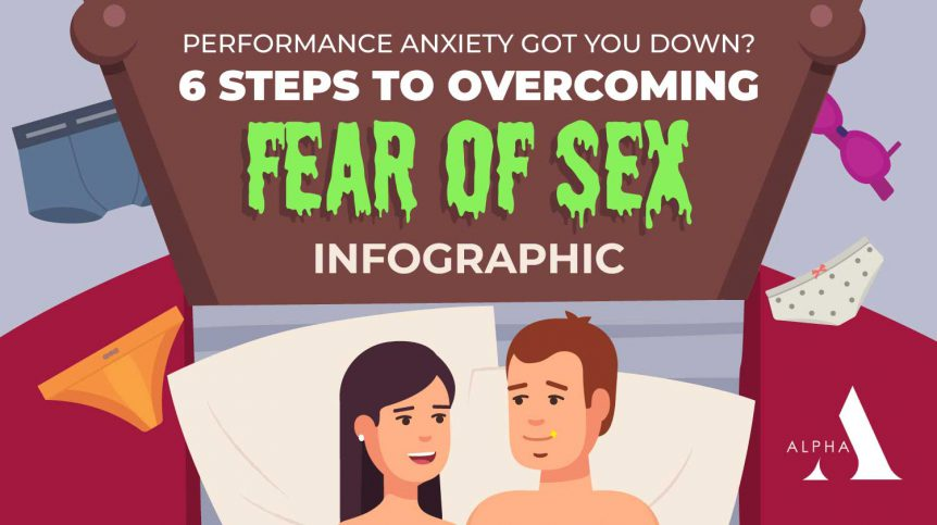 Performance Anxiety ED: How to Overcome Fear Of Sex [INFOGRAPHIC]