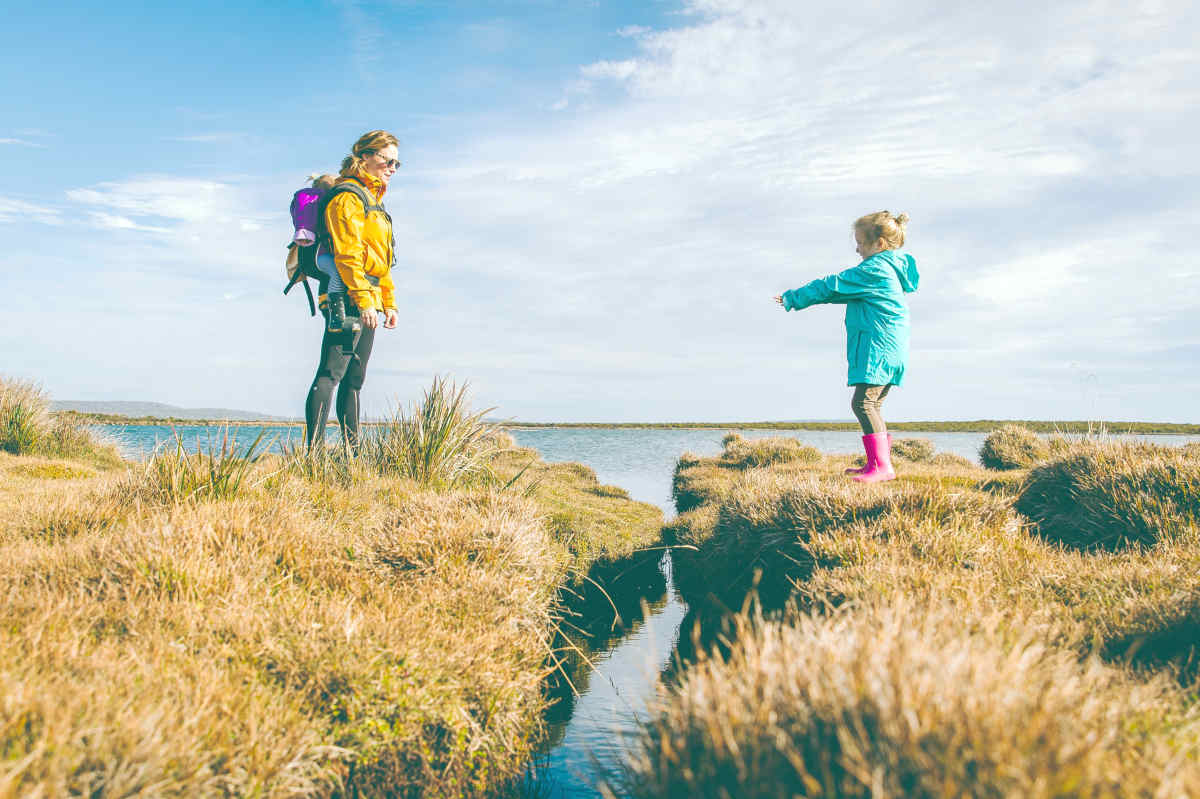 Mother and daughter standing on cliffs | Performance Anxiety and Intimacy Issues - Is It All In Your Head? | emotional intimacy intimate relationships