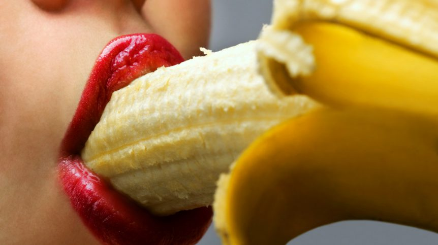 Woman eating banana | P Spot: Getting To Know The Male G Spot | male p spot | Featured